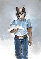 Wolf Patrick by racoonwolf