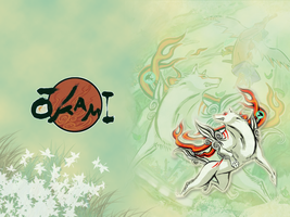 Okami Wallpaper by Andoruu