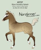 Nordanner Foal #2727 by SarahScala