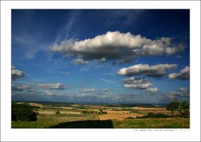 Far away the clouds escape by mordoc