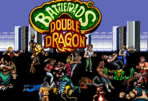 Battletoads And Double dragon **New** by T0misaurus