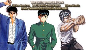 Delinquent DLC Pack for J-Stars by TheTalon34