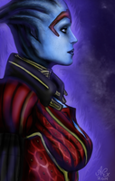Mass Effect Samara by Exquerelin