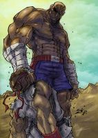 sagat wins in colorz by ZipDraw