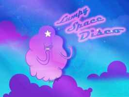 Lumpy Space Disco by EmmersDrawberry