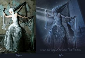 Ghost Encounter Before / After by annewipf
