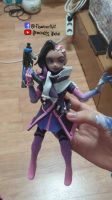 overwatch sombra clay art! by flowerrain1612