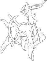 Arceus lines by Sulfura