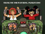 Thank you for watching, Pliskin1890! by bebob4999