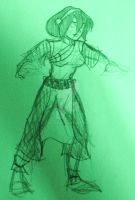 Avatar: Scribble Toph by Kelev