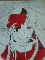 Shiro Deadmen Wonderland by alucardodracula