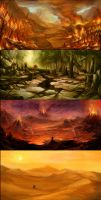4 Lands by SARYTH