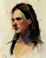 pastel portrait one by Call0ps