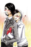 Frerard-gerard way and frank by ReitaWolf