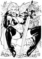 Lady Death by mikems71
