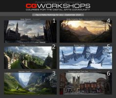 Photoreal Digital Matte Painting by David Luong by fercastz