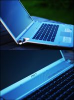 My new laptop by lys036