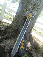 Asch The Blood Mage Sword by meanlilkitty