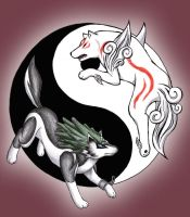 Ammy and Link by Carro-chan