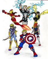 Next avengers (Rebooted) by supertodd9