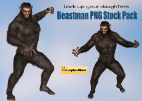 Beastman PNG Stock Pack by Roys-Art