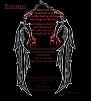 Poetry Art - Scourge by Angelos-Griever