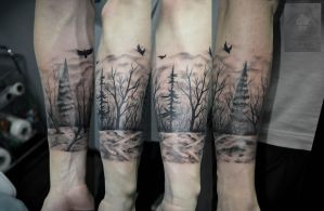 dark forest by ABYSS-TAT-2S