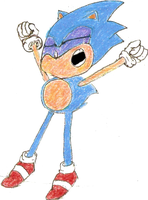 Sonic Drawing 7 colored by namatamiku