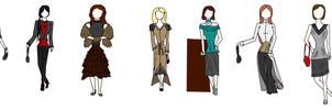 7 Piece Finale Collection by Kimiko-Takahashi-tan