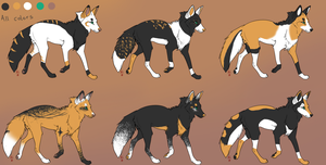 ADOPTABLES .:CLOSED:.  Batch 1 by Mireille-Adopts