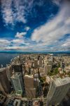 bird's eye view of seattle by FreSch85