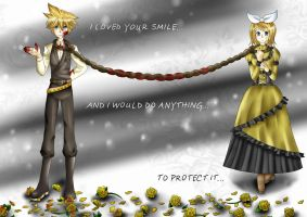 Servant of Evil :Len and Rin: by SparkFire107