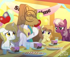 MLP Snack time by 0Bluse