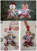 Assassin Cookies (the tree kind) by oo0shed0oo
