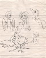 Sketch page by Pepsi-Rabbit