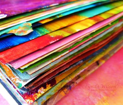 Abstract Art Journal by Lucky-Butterfly