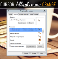 Albook Mini Orange - CURSOR by ForeverYoung320