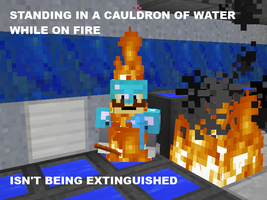 Video Game Logic - Minecraft - Cauldrons by SecminourTheThird