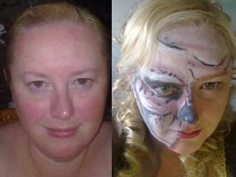 Ghost Pirate Makeup by gurihere