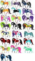 ++REJECTED HORSES++ by RavenSerpent