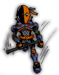 Mini Deathstroke by Ralpipoy