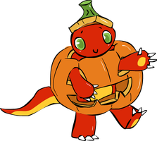Laf ToT: The Little Vicious Pumpkin by Alcalius
