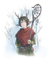 Forest Keeper by kos-tyan