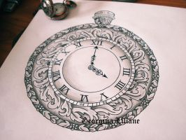 Pocket watch design by BeautyLoveDivine