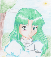 Mia when she was younger by Sally78