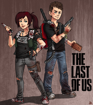 we are The Last of Us by kailkuma