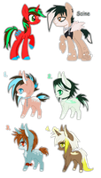 Saine and Tiny Spark foals {closed} by Ivon-Cheetah