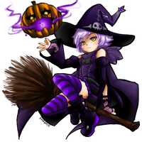 Viola Halloween 2013 by Azzuly