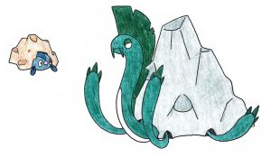 Rock eels ADOPTED by FrozenFeather