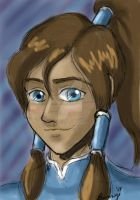 DAD: Day 11- Bust of Korra by Rabbit-of-the-Moon